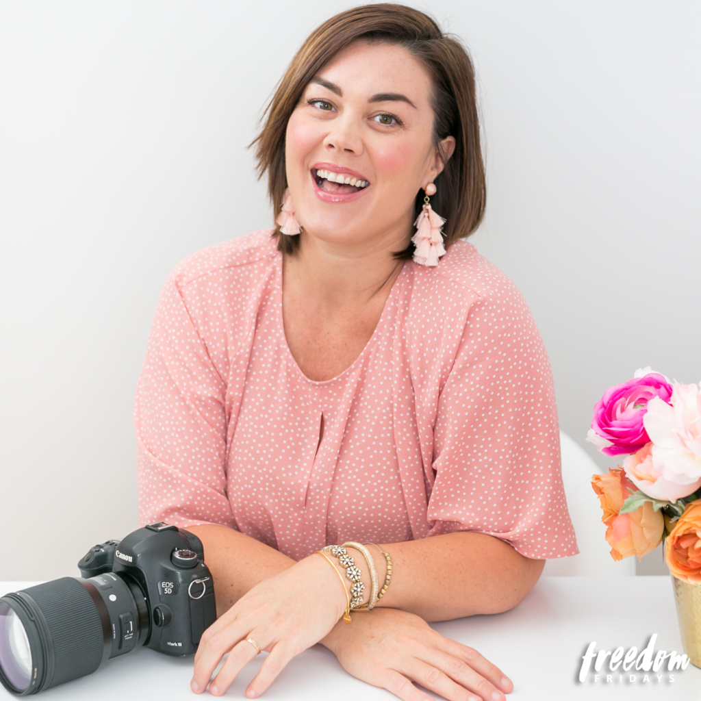 Amalie Orrange, Orlando branding photographer and creative business owner, talks Freedom