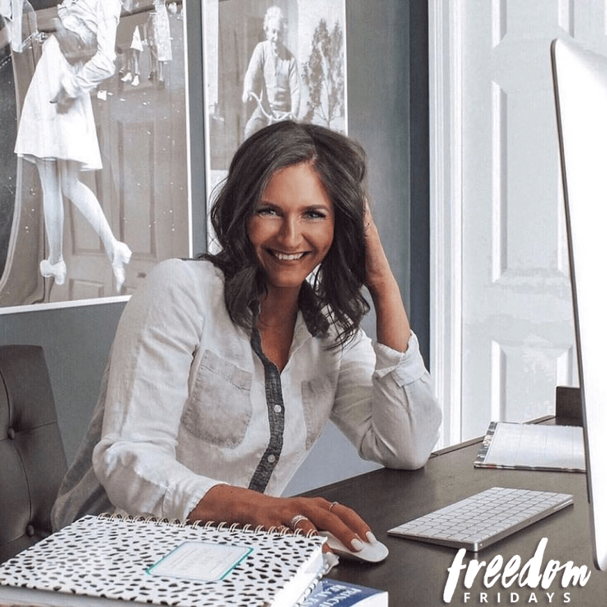 Ashley Bennington, highly driven businesswoman, talks freedom.
